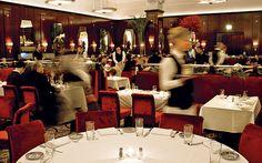 the hubbub of a fine restaurant