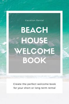 812bc3596097b5bea9af202eb7e12e99 Vacation Rental Welcome Letter Template on startup cost accounting, near meguidebook,