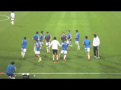 Real Madrid Al-Kass Warm-up - YouTube
