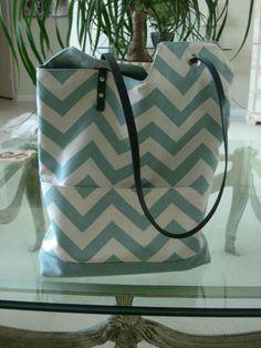 Ying Yang bag by HandmadeBySarka on Etsy Chevron Purse, Blue Chevron, Diaper Bag, Purses, My Style, Antiques, Crafts, Accessories, Etsy