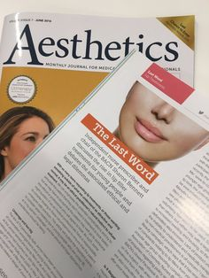 """Aesthetics on Twitter: """"Thanks to @sharonbennettuk for your #LastWord opinion piece on #LipFiller treatments in our #JuneIssue https://t.co/bR6dPRnImM"""""""