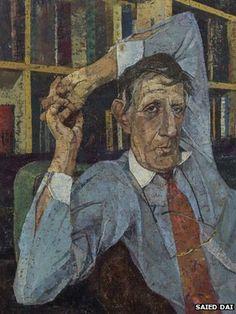 portrait of Jonathan Miller, by Saied Dai winner of royal soc of portrait painters, 2014