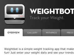 WeightBot to track weight the simple way...