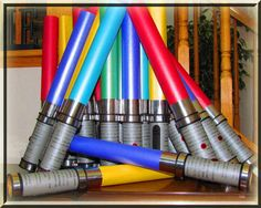Lightsaber Party Invitations