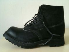 Paul Harnden combat boot.