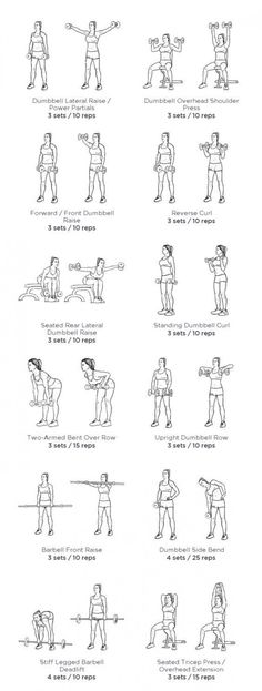 Arm fat can be the most stubborn fat to get rid of. It needs patience and hard work. How to lose arm fat at home? Arm Workout Women No Equipment, Arm Workout Men, Tone Arms Workout, Gym Workout Plan For Women, Gym Workouts Women, Fat Workout, Dumbbell Workout Plan, Workout Plans, Gym Equipment
