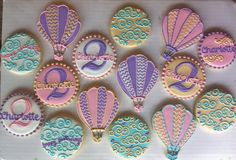 Vintage Hot Air Balloon Party - HayleyCakes And Cookies