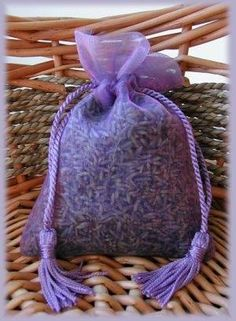 Scented Lavender bag for your {BFF} as a gift. Could be use in her chest drawers, closet, hang in her car. Makes a wonderful gift.