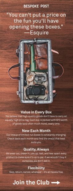 Meet the Box of Awesome. Creative Gifts, Cool Gifts, Diy Gifts, Biscuit, Buy Boxes, Useful Life Hacks, Subscription Boxes, Cool Things To Buy, Stuff To Buy