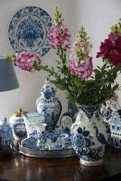 Lovers of Blue and White