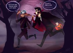Halloween in Republic City by ~Uxia15 on deviantART