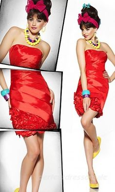 Shop Mac Duggal prom dresses at PromGirl. Elegant pageant gowns, long designer formal dresses, and special occasion Mac Duggal dresses. Fabulous Dresses, Cute Dresses, Beautiful Dresses, Short Dresses, Red Homecoming Dresses, Bridesmaid Dresses Online, Dress Prom, Dresses 2013, Ball Dresses