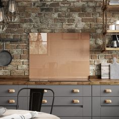 The Stunning Copper Colour Of This Splashback Makes It Perfect On Trend Addition To A Laura Ashley Kitchen With Metallic High Gloss Finish