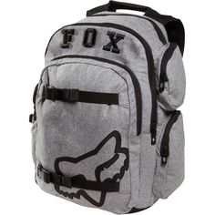 8a560221280f Fox Step Up 2 Laptop Backpack (Charcoal) Fox Rider