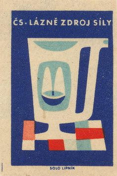 Czechoslovakian #matchbox label To design & order your logo #matches GoTo GetMatches.com or call 800.605.7331 Today!