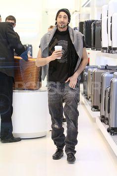 Adrien Brody Leaves His Baggage Behind to Focus on Film
