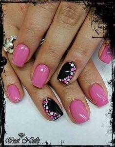 Cute Gel Nails, Shellac Nails, Pedicure Nails, Fancy Nails, Cute Acrylic Nails, Toe Nails, Manicure Nail Designs, Gel Nail Art Designs, Fingernail Designs