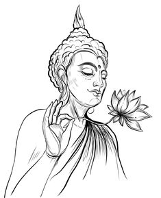 Awesome buddha tattoo sleeve buddha tattoos meaning sitting buddha tattoos t Buddha Tattoo Design, Buddha Tattoos, Buddha Tattoo Meaning, Baby Buddha, Buddha Face, Buddha Head, Buddha Drawing, Buddha Painting, Tattoo Sketch