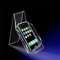 Acrylic Countertop Displays - Countertop Cell Phone Holder