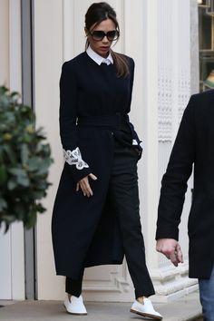 Take a Peek Inside the Presentation Where Victoria and David Beckham Thrilled London Editors