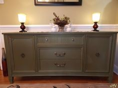 iSavor the Weekend: Credenza and Dining Room Reveal ~ Olive ASCP Credenza