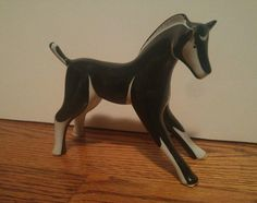 Beautiful Cmielow Pottery Polish horse. More pictures and details to come. Please ask any questions before bidding. Thank you for viewing my auction! Approximately 5.5  tall and 5.75  long. I added mo