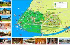 Le Havre area tourist map