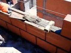 Woodworking - New ideas Homemade Tools, Diy Tools, Brick Laying, Brick Construction, Diy Home Repair, Brick And Mortar, Cool Inventions, Useful Life Hacks, Brickwork