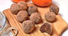 Čokoládové low carb truffles » LadyLowCarb.cz Energy Bites, Low Carb Diet, Truffles, Healthy Recipes, Healthy Food, Cooking, Decor, Biscuits, Kuchen