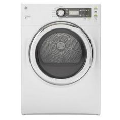 GE 7.0 cu. ft. Gas Dryer with Steam in White GFDS140GDWW at The Home Depot - Mobile