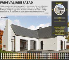Webers Färgväljare: Prova vilken kulör som passar ditt hus