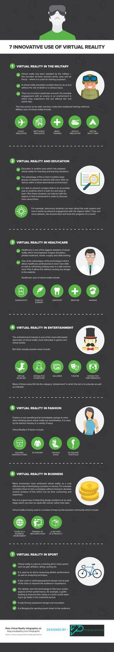 7 use of virtual reality                                                                                                                                                                                 More