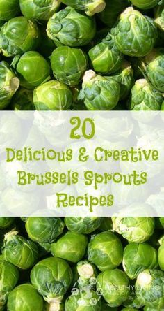 20 Delicious and Creative Brussels Sprouts Recipes | Healthy Living in Body and Mind