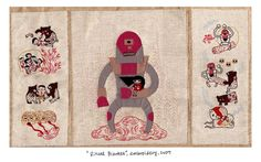 needlework evolves