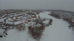 Ehang Ghost Drone V 2 0 полёт  зима  Екатеринбург