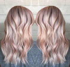 Illumina rose gold blonde by Janai Hartt More