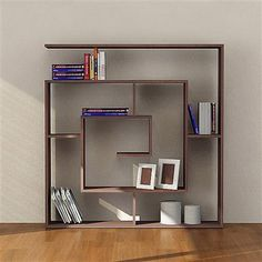 Interesting take on a otherwise boring book case