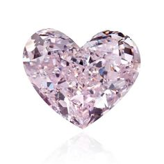 PINK DIAMOND HEART Pink Purple, Purple Stuff, Magenta, Heart Shaped Diamond, Alexandrite, Comfortable Shoes, Heart Shapes, Diamond Jewelry, Swarovski Crystals