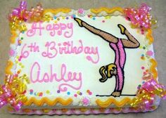 "Gymnastic Girl in ""Children's Birthday Cakes"" — Photo 1 of 1"