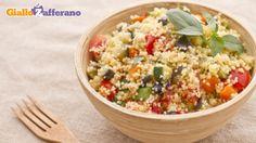Couscous alle verdure  (al posto dei pomodorini si possono usare i pezzettoni di pomodoro in scatola da aggiungere dopo aver fatto stufare le verdure almeno 5 minuti)