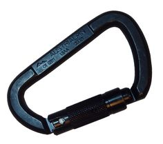 AUSTRIALPIN STEEL CARABINER   This is a heavy duty carabiner designed for climbing and fall protection.  It is also a great tool for securing gear and perfectly spans two rows in a PALS grid.