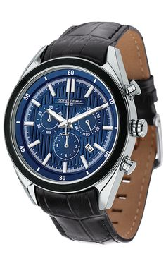 bf7c6ff0f04 PRE-SALE Jorg Gray JG6900-22 Men s Watch Chronograph Blue Dial With  Integrated Black