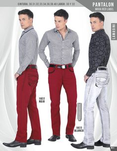 1822 Pantalon Caballero Lamasini Red Label