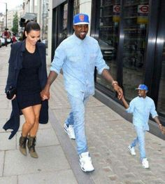 Kanye Takes His Favorite Person For A Walk