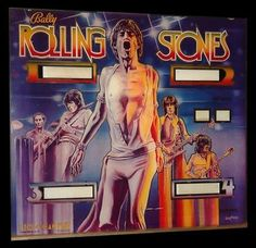 Bally Rolling Stones Pinball Machine For Sale Gene Simmons