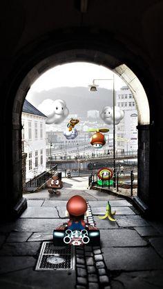 Mario Kart fan art