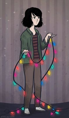 Stranger Things Illustrated Gif - Joyce Byers - Album on Imgur