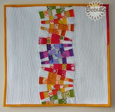 """Quilts My Way: Dare to Dresden """"Rainbow Mini Quilt"""""""