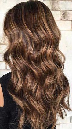Brunette Hair Color With Highlights, Brown Hair Balayage, Brown Blonde Hair, Honey Brown Hair, Natural Brown Hair Dye, Carmel Hair With Highlights, Curly Light Brown Hair, Best Brunette Hair Color, Light Brunette Hair