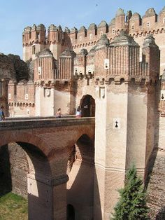 Great Castles of Europe: Castle of Coca